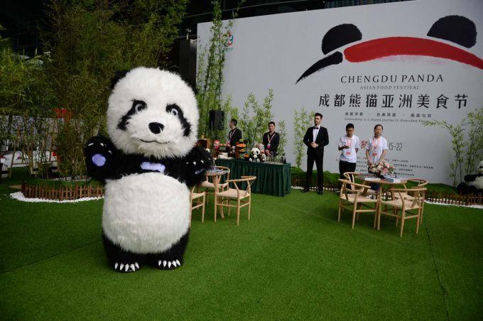 博物馆里办美食节!刚刚,成都熊猫亚洲美食节开幕啦